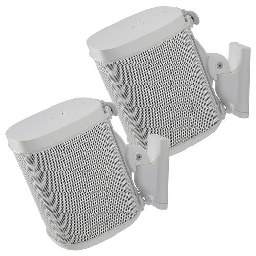 White- Sanus Wall Mount (Pair)