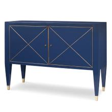 Beaumont Cabinet - Cadet Blue w/ Gold St