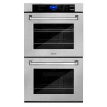 View Product - ZLINE 30 in. Professional Double Wall Oven with Self Clean (AWD-30) [Color: DuraSnow® Stainless Steel]