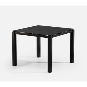 "44"" Square Balcony Table (no Hole) Ht: 34"" Post Aluminum Base (Model # Includes Both Top & Base)"