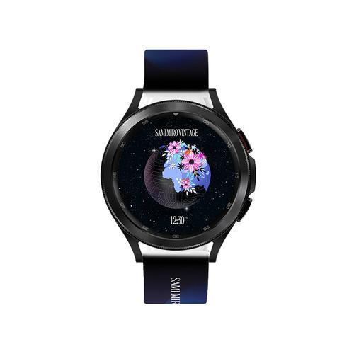 Samsung - Galaxy Watch4, Galaxy Watch4 Classic, Sami Mir Vintage Eco-Friendly TPU Band, S/M, Earth Sunrise