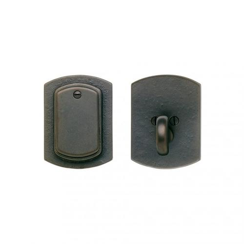 CURVED DEAD BOLT - DB511 Bronze Dark Lustre