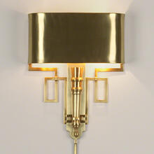 Torch Sconce-Antique Brass-HW