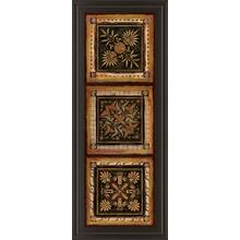 """Folk Art Panel I"" By Tava Studios Framed Print Wall Art"
