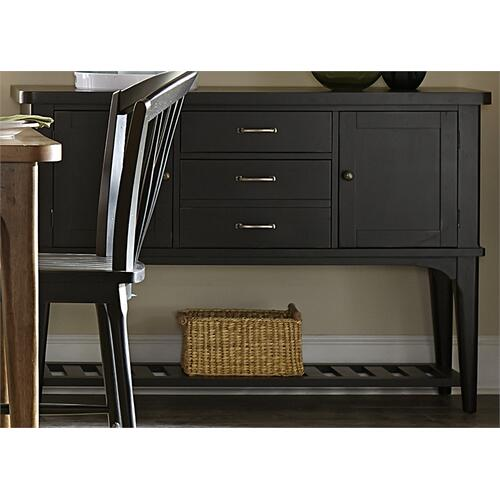 Liberty Furniture Industries - Server - Black