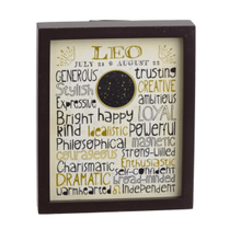 """See Details - """"Leo"""" Wall Block."""