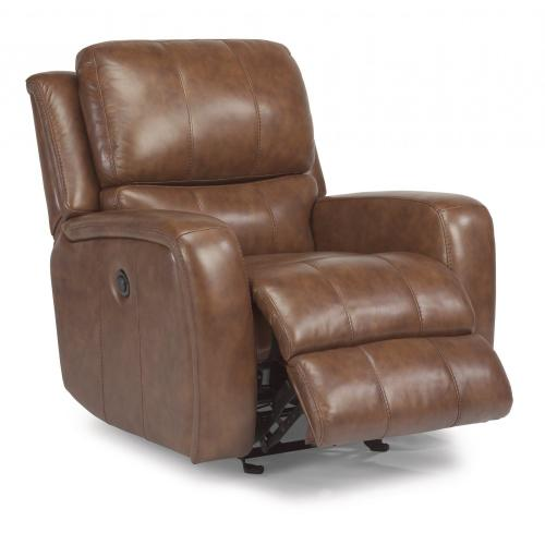 Product Image - Hammond Leather Power Gliding Recliner