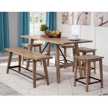 View Product - Tahoe 3-Piece Counter Dining (Counter Table & 2 Counter Benches)