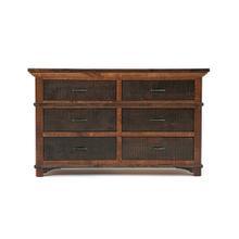 See Details - Glen Falls - 6 Drawer Dresser