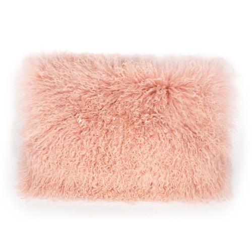 Tov Furniture - Tibetan Sheep Large Blush Pillow