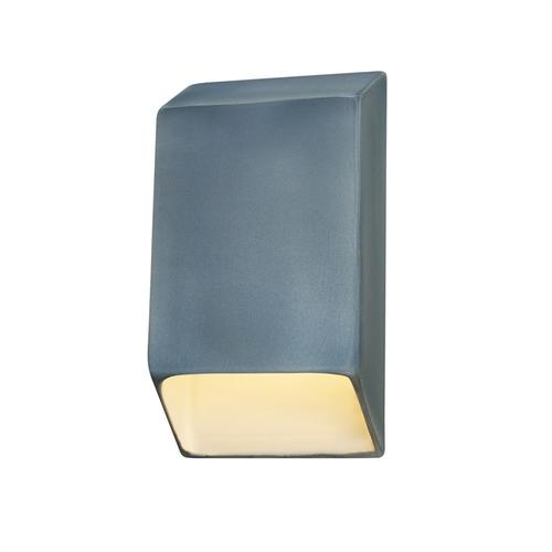 Small ADA Tapered Rectangle LED Wall Sconce (Closed Top)