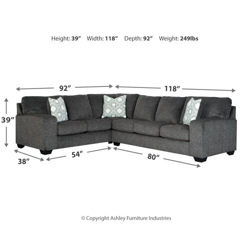 Halloy 2-piece Sectional
