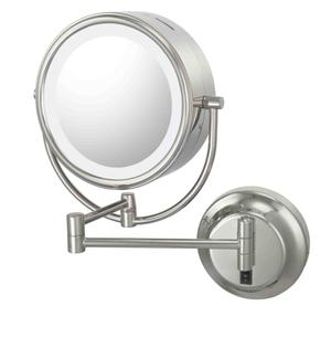 Chrome Double Sided Mirror Hard-Wire Product Image
