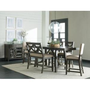 Standard Furniture - Omaha Counter Height Bench, Grey