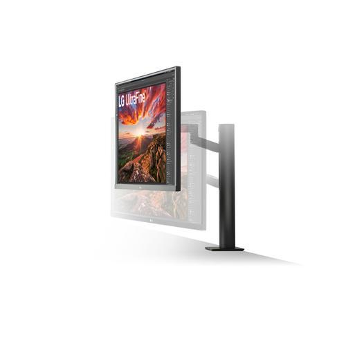 "LG - 27"" Ergo IPS UHD 4K UltraFine™ Monitor (3840x2160) with Ergonomic Stand & C-Clamp, USB Type-C™, DCI-P3 95% (Typ.) & VESA DisplayHDR 400"