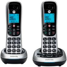 CD4 Series Digital Cordless Telephone with Answering Machine (2 Handsets)