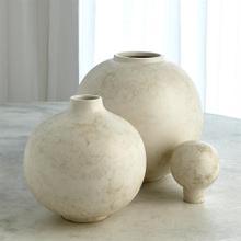 Bubble Stacking Vase-Ivory-Lg
