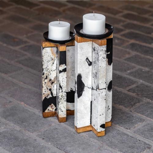 Uttermost - Illini Candleholders, S/2
