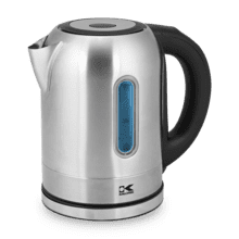 Kalorik 1.7 Liter Digital Water Kettle with Color LED, Stainless Steel