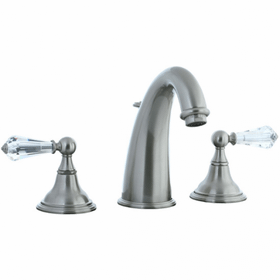 Asbury - 3 Hole Hi-Arch Widespread Lavatory Faucet - Brushed Nickel