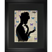Blue Butterflight By Loui Jover
