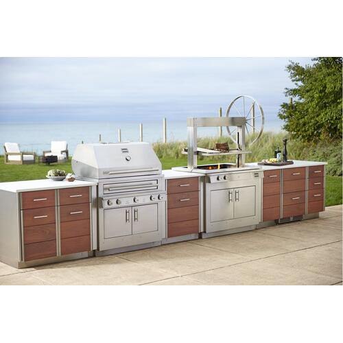 Kalamazoo - Signature 24-inch Dual-zone Outdoor Refrigerator / Wine Chiller