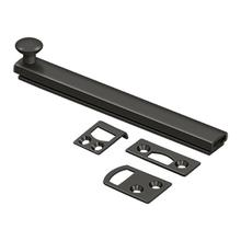 """View Product - 6"""" Surface Bolt, Concealed Screw, HD - Oil-rubbed Bronze"""