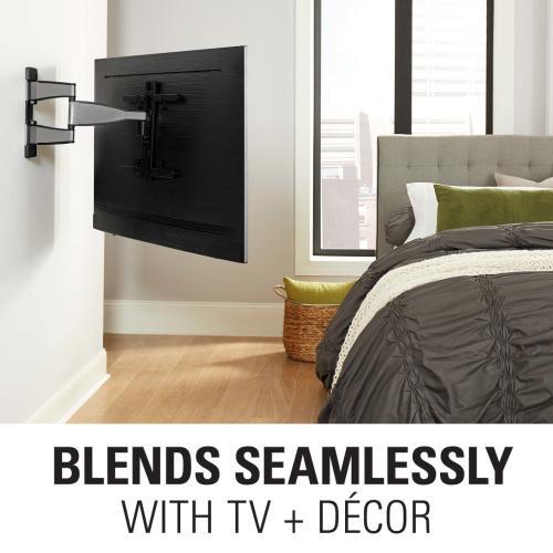 "Silver Premium Full Motion TV Wall Mount for 32""-55"" TVs"