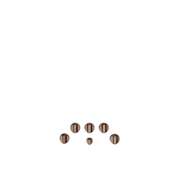 Café 5 Gas Cooktop Knobs - Brushed Copper