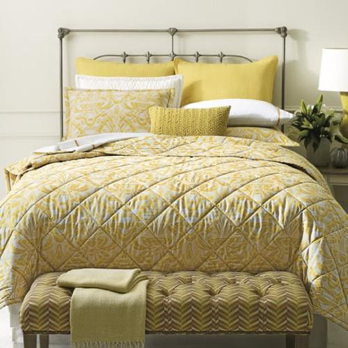Retired Axelle Quilts & Shams, GOLD, KING