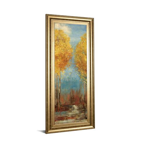 """Ginkgo Tree Il"" By Asia Jensen Framed Print Wall Art"