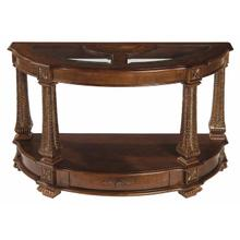 See Details - Westminster Demilune Sofa Table
