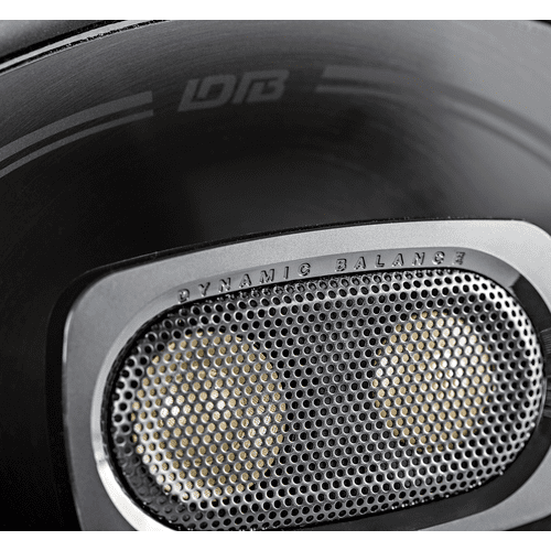 "DB+ Series 6""x9"" Three-Way Coaxial Speakers with Marine Certification in Black"