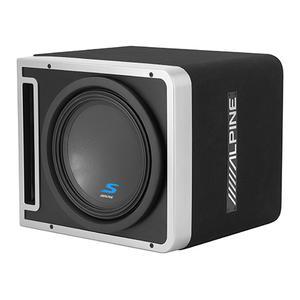 "Alpine - Single 12"" Alpine Halo S-Series Preloaded Subwoofer Enclosure with ProLink """
