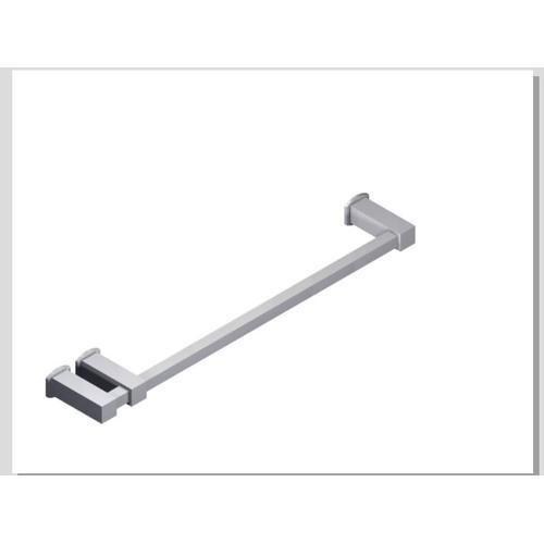 "Loft 18"" Double Post Towel Bar SQU + Safire Escutcheon Chrome"