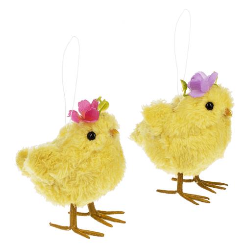 Chick Ornaments (6 pc. ppk.)