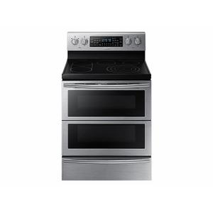 Samsung5.9 cu. ft. Freestanding Electric Range with Flex Duo™ & Dual Door in Stainless Steel