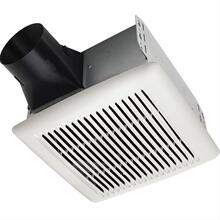 Flex DC Series Bathroom Exhaust Fan with selectable CFM Settings