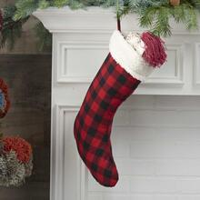 "Home for the Holiday Qy425 Red 17"" X 10"" Stocking"