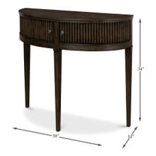 See Details - Mezzo Console Table, Artisan Grey