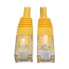Cat6 Gigabit Molded (UTP) Ethernet Cable (RJ45 M/M), Yellow, 20 ft. (6.09 m)