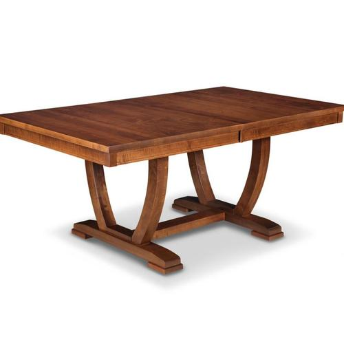- Florence 42x72 Solid Top Dining Table