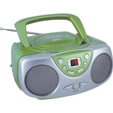 See Details - Portable CD Boom Box with AM/FM Radio (Green)