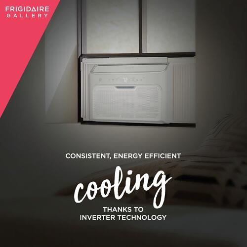 Frigidaire - Frigidaire Gallery 12,000 BTU Inverter Quiet Temp Smart Room Air Conditioner