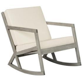Vernon Rocking Chair - Grey / Beige