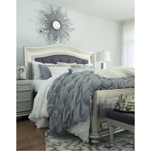 Coralayne California King Panel Bed