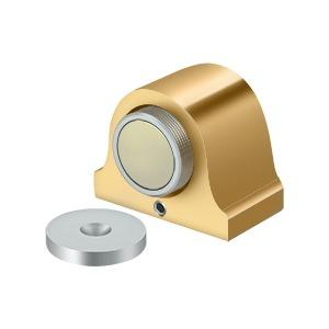 Magnetic Dome Stop - PVD Polished Brass