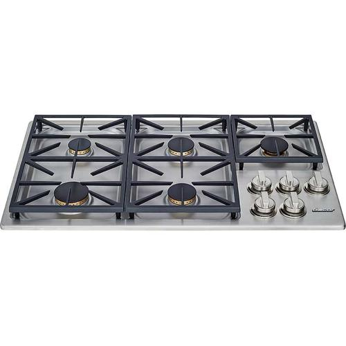 "36"" Dual Gas Cooktop, Natural Gas"
