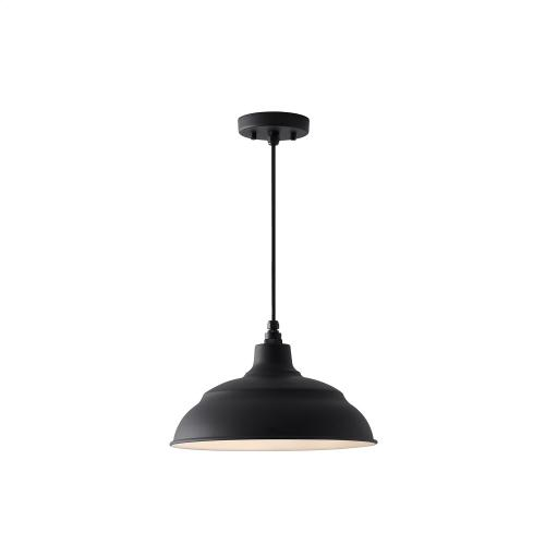 """Capital Lighting - 14"""" Warehouse Shade with Cord and Canopy"""