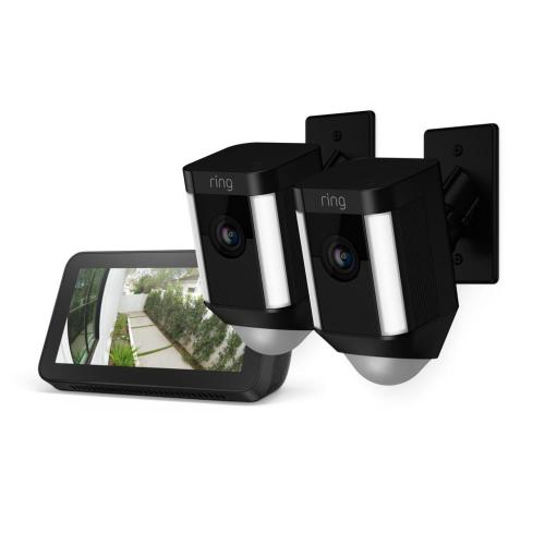 2-Pack Spotlight Cam Mount with Echo Show 5 - White